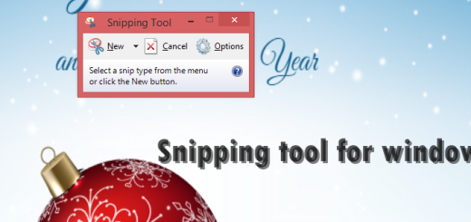 snipping tool for windows 7 and 8