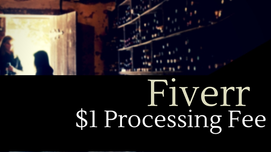 fiverr processing fee