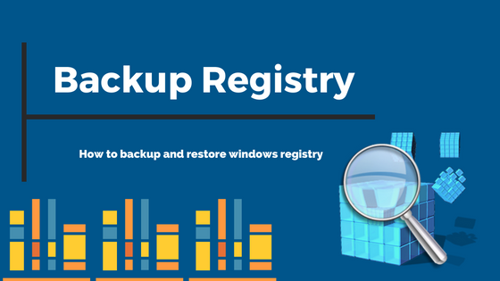 how to backup registry